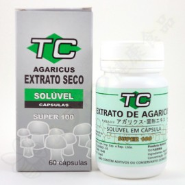TC アガリクス 乾燥エキス カプセル SUPER 100
